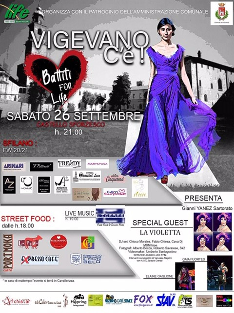 Life Vigevano - Battiti for Life